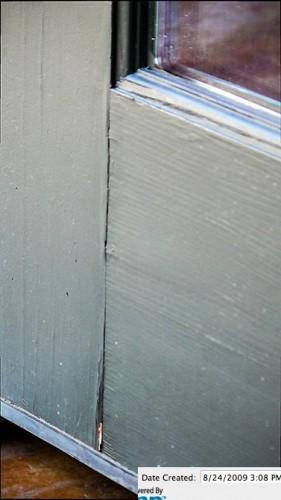 Rutherford Custom Homes' cracking doors