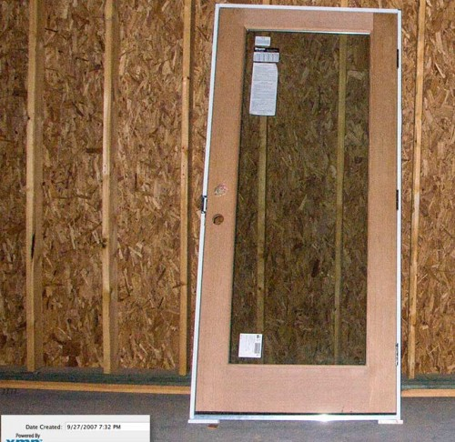 Rutherford Custom Homes' doors debacle