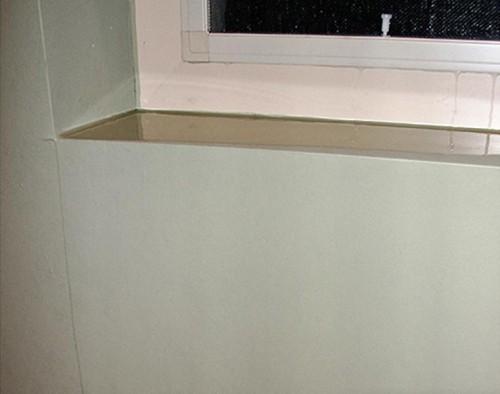 Rutherford Custom Homes leaking window