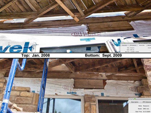 Beau Rutherford testified that Tyvek was properly installed