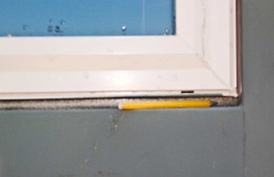Hill Country rains penetrate home's windows