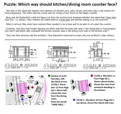 More Rutherford Custom Homes trouble reading these architectural plans