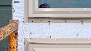 Why Rutherford Custom Home windows leak -- no weather seal.