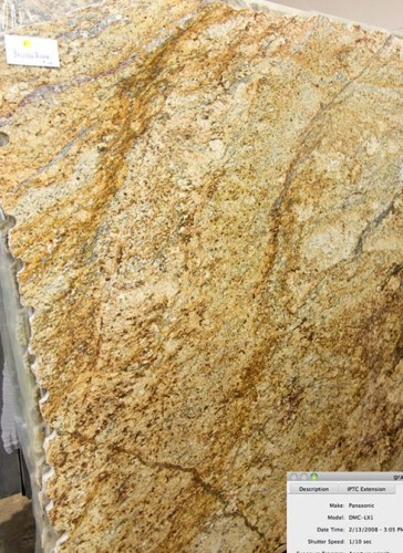 Rutherford Custom Homes did not reserve granite, leading to this new selection.
