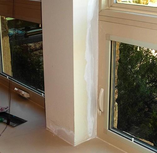 We had Rutherford Custom Homes leaking windows fixed