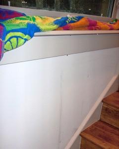 Window leak in Rutherford Custom Home