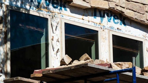 Rutherford Custom Homes windows revealed